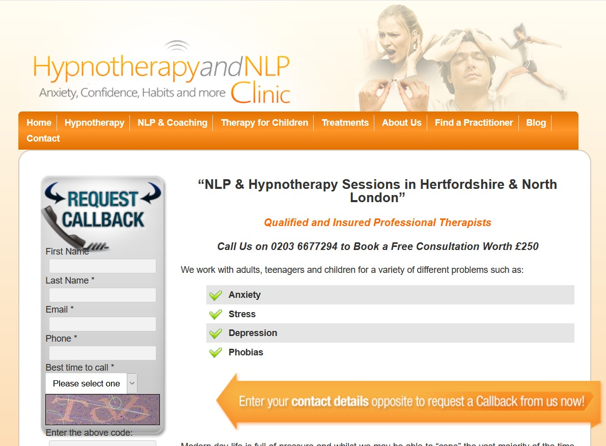 NLP Therapist Hertfordshire